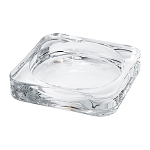 Candle Dish, glass