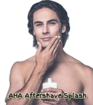 Organic AHA Aftershave Splash