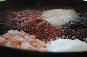 Salts from around the world