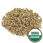 White Peppercorns - Organic