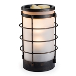 Coastal Glass & Metal Warmer