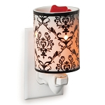 Damask Porcelain Plugin Candle Warmer