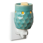 Honeycomb Turquoise Plug-in Warmer