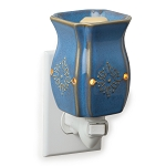 Vintage Azure Plug-in Candle Warmer
