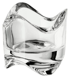Tealight Holder - Clear Glass