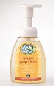 Ginger Grapefruit Foaming Soap  8.3 oz