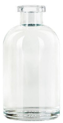8oz Apothecary Glass Bottle-narrow mouth