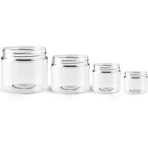 Single Wall Plastic Jars